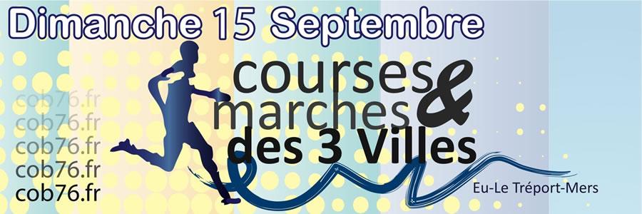 14 km des 3 Villes Soeurs ; Eu (76) 15 septembre 2013 Banderole_3v2013